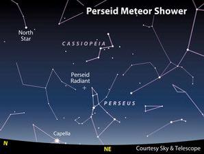 Gambar Hujan Meteor Perseid