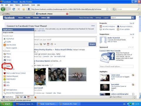 Facebook - Notes